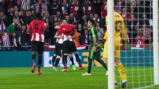 Атлетик минимально победил Эйбар, забив на первой минуте: 25 тур Ла Лиги, матчи субботы