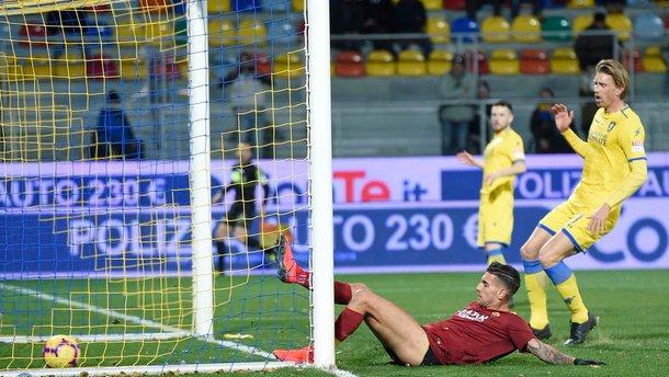 Рома вырвала победу над Фрозиноне: 25 тур Серии А, матчи субботы