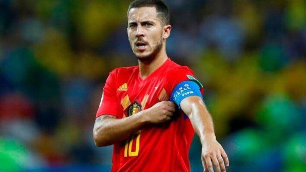"""Кіпр – Бельгія: Азар провів ювілейний матч за збірну, увійшовши в топ-3 ветеранів """"червоних дияволів"""""""