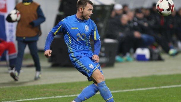 Люксембург – Україна: Караваєву наклали шви після матчу