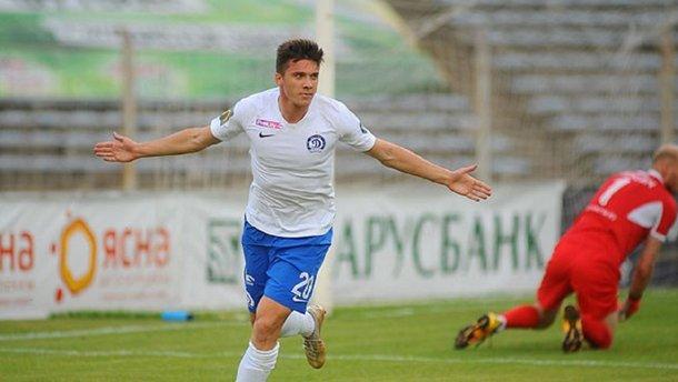 Білоног оформив дубль після виходу на заміну і допоміг мінському Динамо здобути розгромну перемогу
