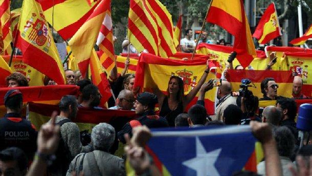 Барселона підтримала засуджених організаторів референдуму про незалежність Каталонії