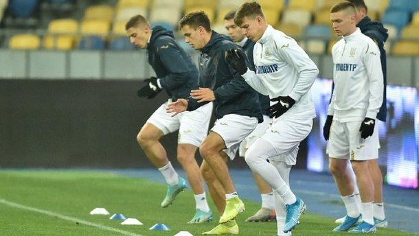 Україна – Естонія: команди визначились із формою на гру