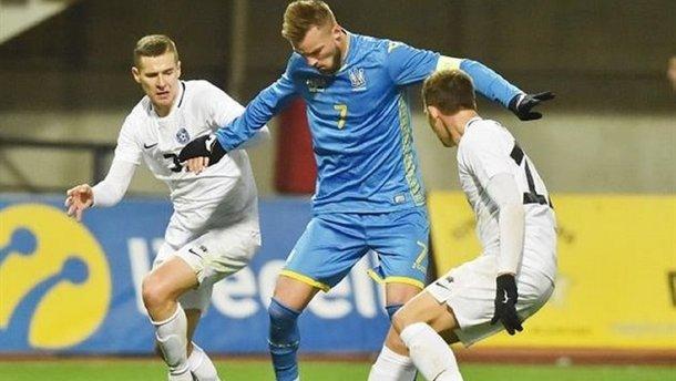 Украина – Эстония: Шевчук указал на главную проблему команды Шевченко в спарринге