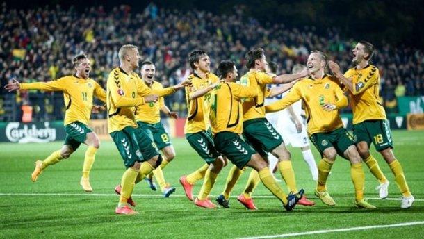 Збірна Литви здобула першу домашню перемогу за три роки  – кінець жахливої серії колишнього суперника України