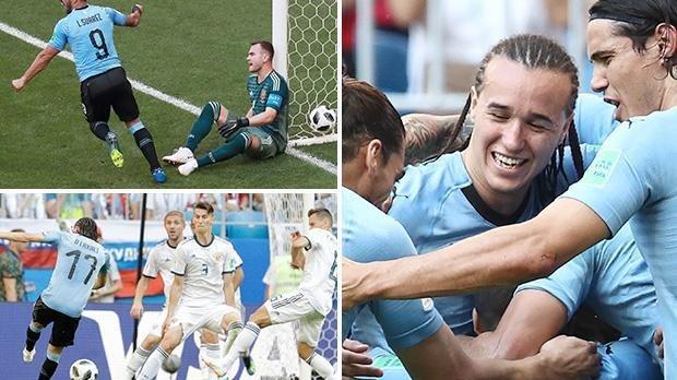 Уругвай победил Португалию исыграет в ¼ финалаЧМ сФранцией