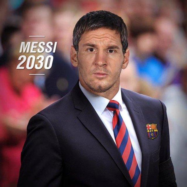 Лео Мессі, 2030, Барселона