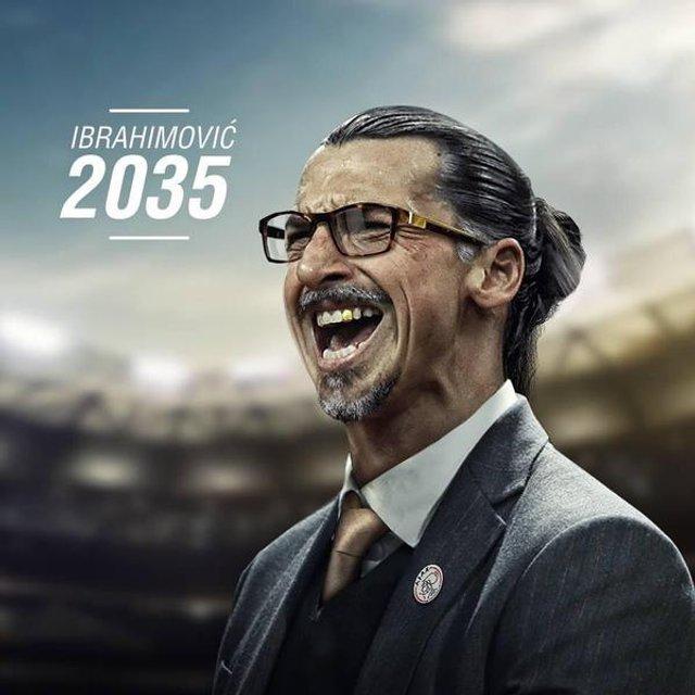 Златан Ібрагімовіч, 2035, Аякс