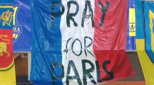 Україна, Словенія, Париж, теракти, Євро-2016, #PrayForParis