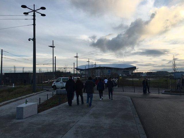 Відкриття стадіону в Ліоні, фото, Стад Люм'єр