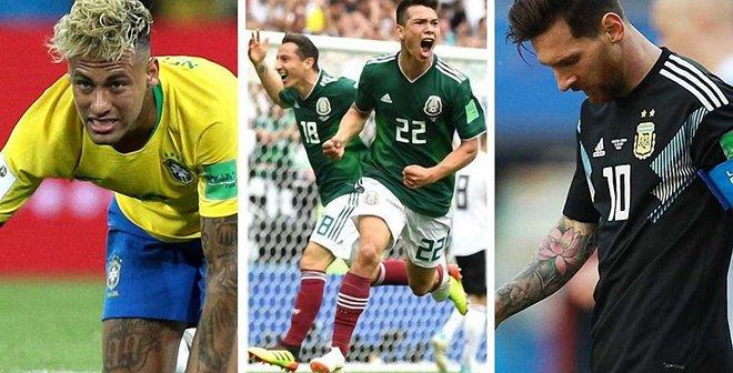 ЧС-2018: 10 головних підсумків 1-го туру – провал Неймара та Мессі, піренейський трилер і сенсаційна Мексика