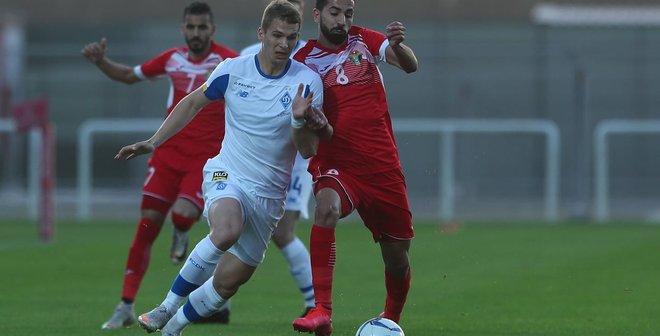 Динамо не обіграло збірну Йорданії – сумне завершення першого збору з очевидними проблемами