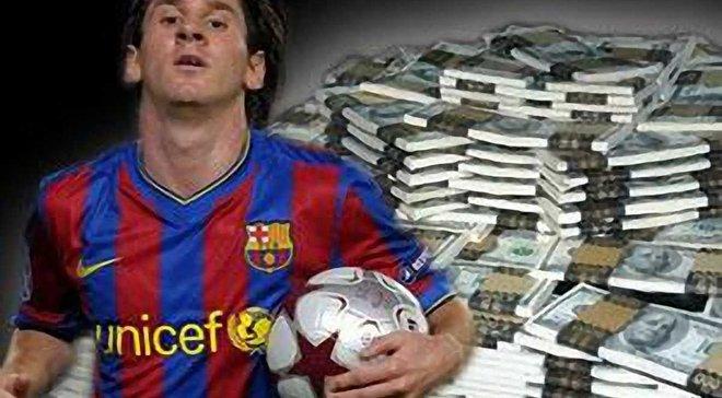 Месси самый богатый футболист