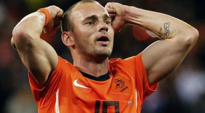 Тренер збірної Голландії продовжує ігнорувати Снейдера