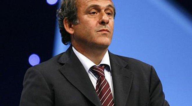 Платини: Европейский футбол понес убытки на сумму 1,7 миллиардов евро