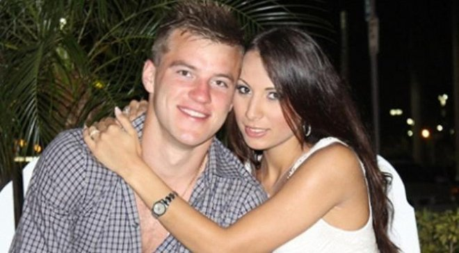 Андрей ярмоленко и его жена инна