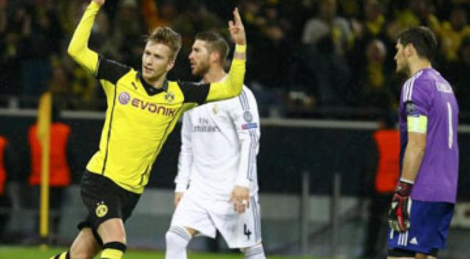 Футбол боруссия реал 8 апреля