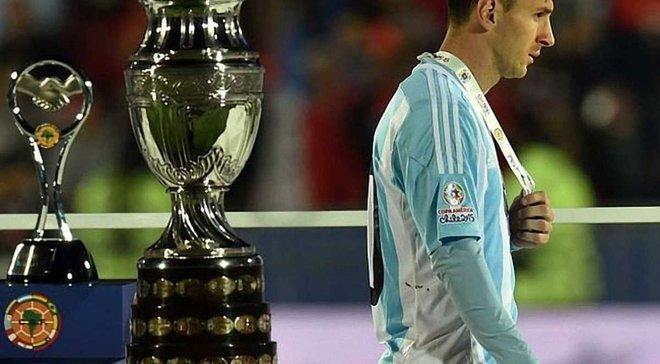 Мессі відмовився від призу найкращому гравцю Копа Амеріка