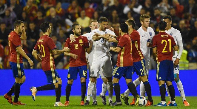Товариські матчі. Іспанія тріумфує над Англією, Франція сильніша за Німеччину, а Нідерланди реабілітуються у грі з Уельсом