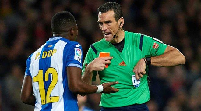 """Мы не действовали жестко против """"Барселоны"""", в матче не было крови, - игрок """"Эспаньола"""" Диоп"""