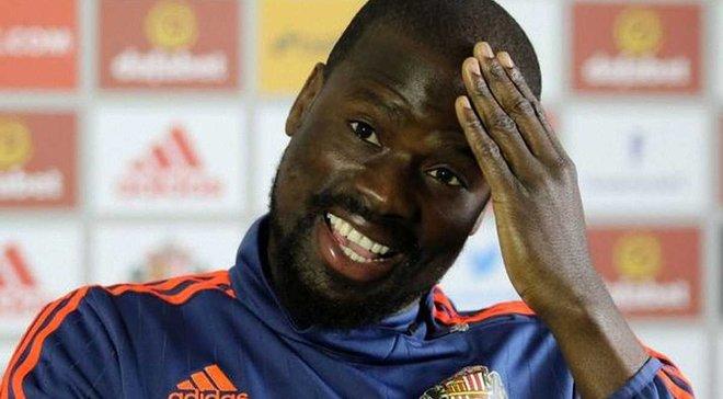 """""""Сандерленд"""" звільнив Ебуе за 22 дні після підписання контракту і в день дискваліфікації"""