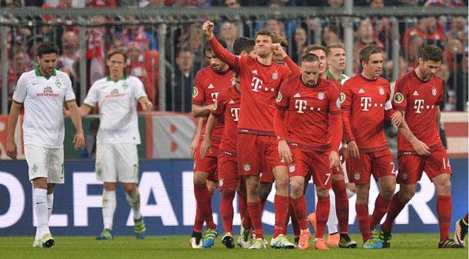 Финал футбол бавария