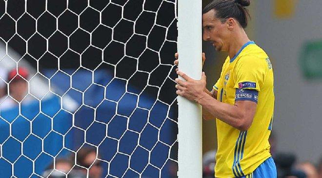 Ужасный промах Ибрагимовича из убойной позиции в матче с Италией