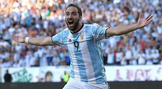 Дубль Ігуаїна приніс Аргентині перемогу над Венесуелою і путівку до 1/2 фіналу Копа Амеріка