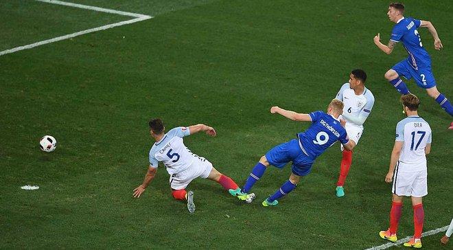 Исландия и Англия стали авторами уникального достижения в истории чемпионатов Европы