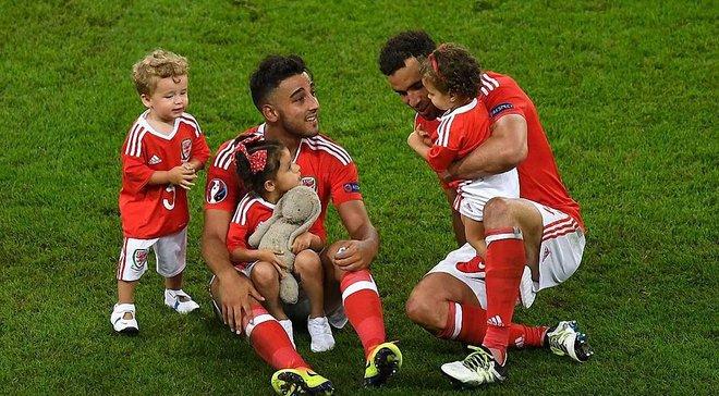 УЕФА запретил футболистам праздновать с детьми на Евро-2016
