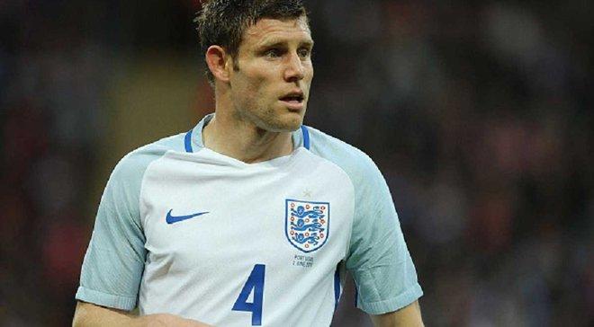 Милнер официально заявил о завершении карьеры в сборной Англии