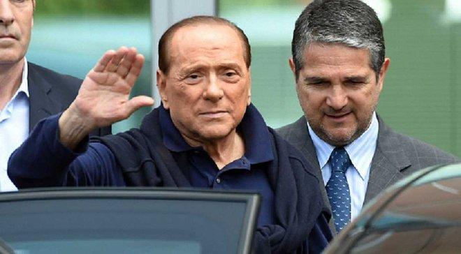 """""""Боляче, але необхідно"""". Берлусконі прокоментував продаж """"Мілану"""" китайським інвесторам"""