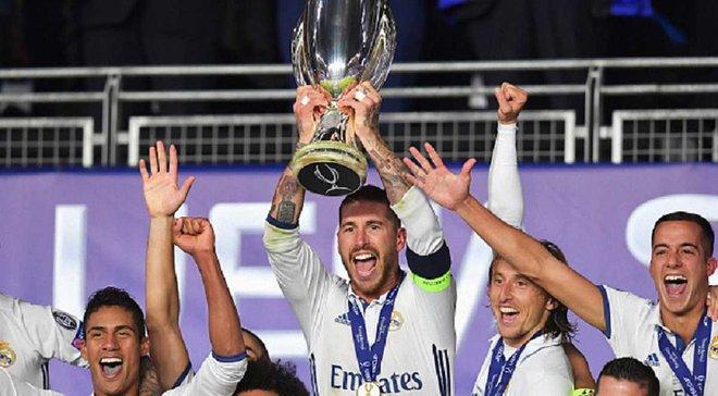 Рамос признан лучшим игроком матча за Суперкубок УЕФА