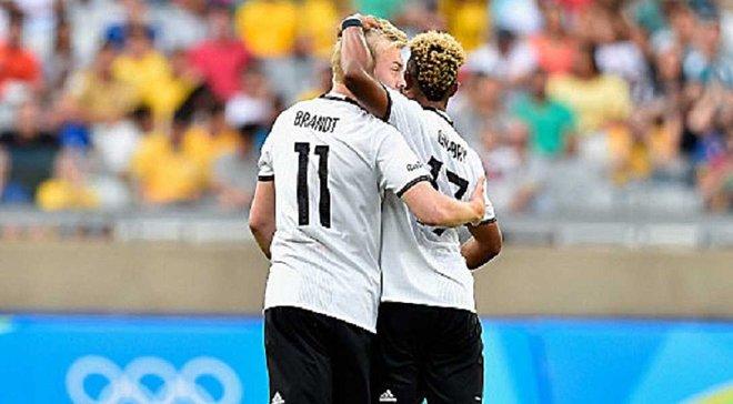 Олімпіада-2016. Німеччина забила десять сухих голів Фіджі - Петерсен оформив пента-трик