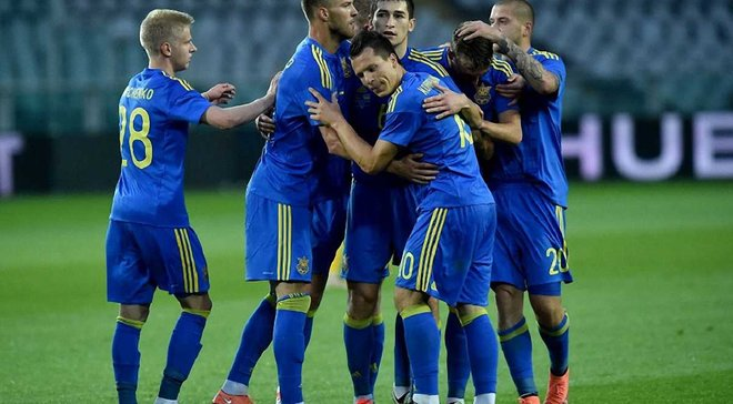 Украина сохранила позиции в обновленном рейтинге ФИФА