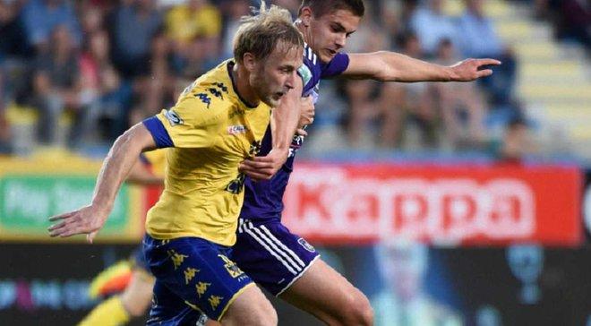 Безус и Теодорчик разошлись миром в чемпионате Бельгии