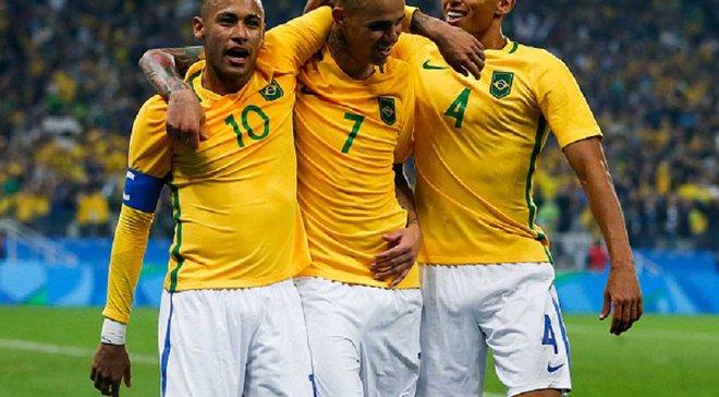 Бразилія вийшла у півфінал Олімпіади-2016, де зіграє з Гондурасом