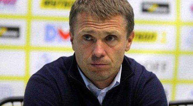 """Ребров рассказал, почему Ярмоленко пропустил матч со """"Сталью"""""""