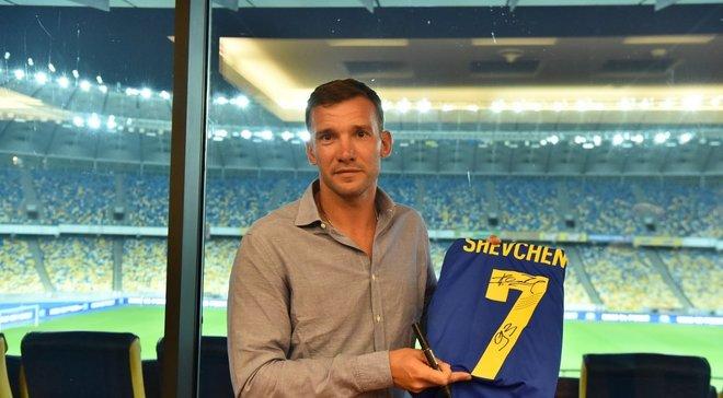 Шевченко встретился с тренерами молодежной и юношеских сборных Украины