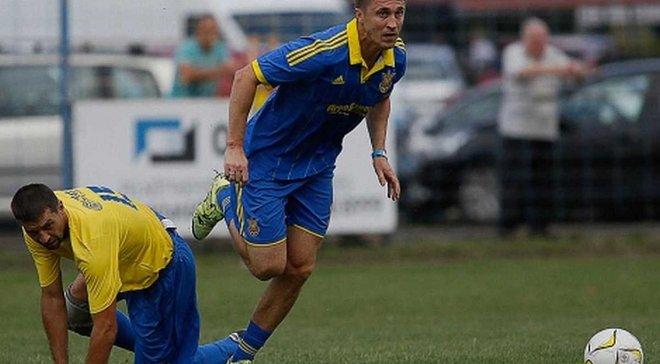 Легенди збірної України перемогли в історичному виїзному матчі ветеранської команди