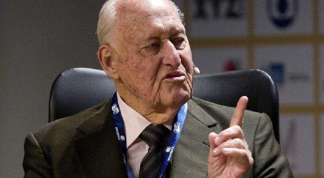 Екс-президент ФІФА помер у віці 100 років