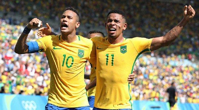 Бразилия с Неймаром пробилась в финал Олимпийских игр