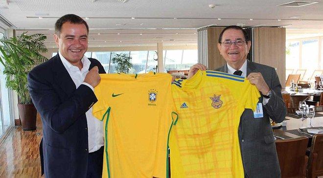 Павелко розповів, коли збірна Україна може прийняти Бразилію