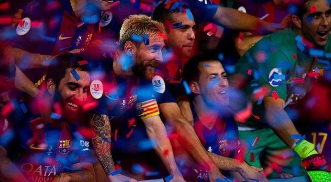 """""""Барселона"""" отличилась космической юбилейной серией, длящейся более четверти века"""