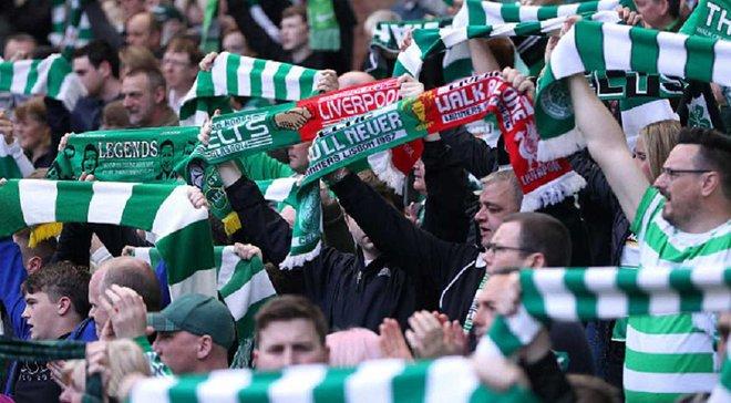 """УЄФА покарає """"Селтік"""" за витівки фанатів з палестинськими прапорами у матчі Ліги чемпіонів"""