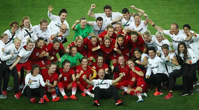 Женская сборная Германии выиграла Олимпиаду-2016