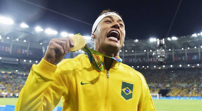 """Король Неймар та історичне бразильське """"золото"""". 5 головних підсумків Олімпіади-2016"""