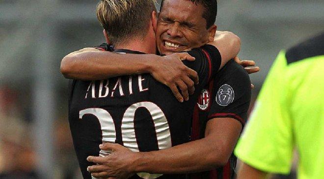 """Милан"" благодаря хет-трику Бакки и незабитому пенальти на последней минуте переиграл ""Торино"""
