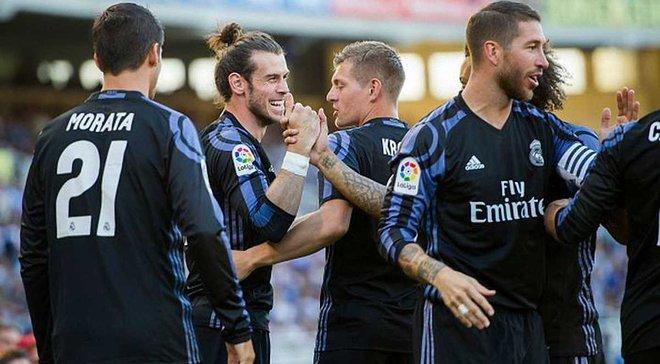 """""""Реал"""" показав 2-у переможну серію в історії клубу, здолавши """"Реал Сосьєдад"""""""