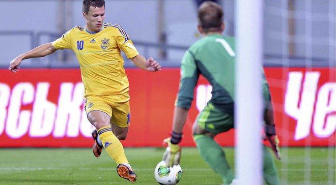 Коноплянка отримав виклик у збірну на матч проти Ісландії